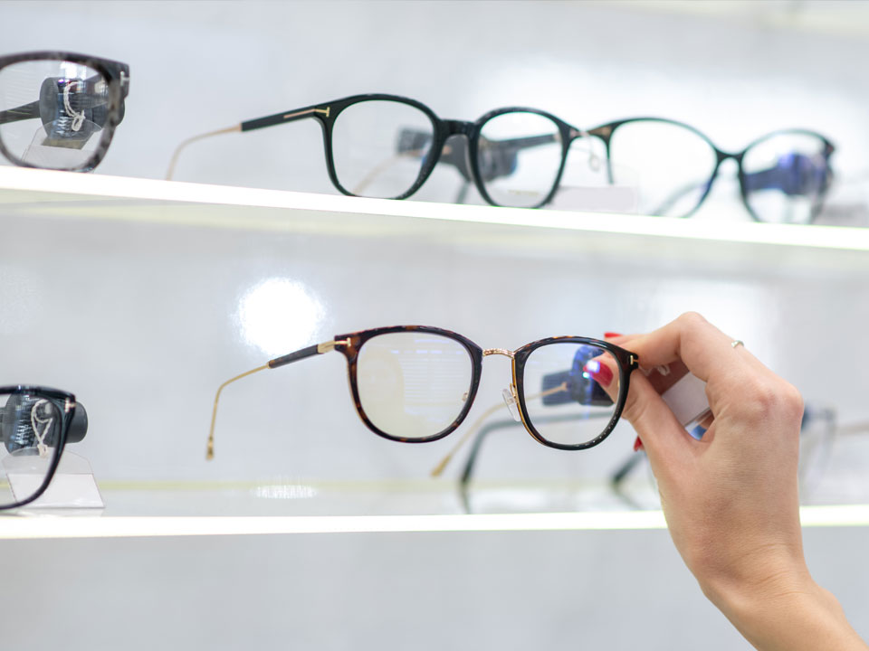 Montures de lunettes de vue